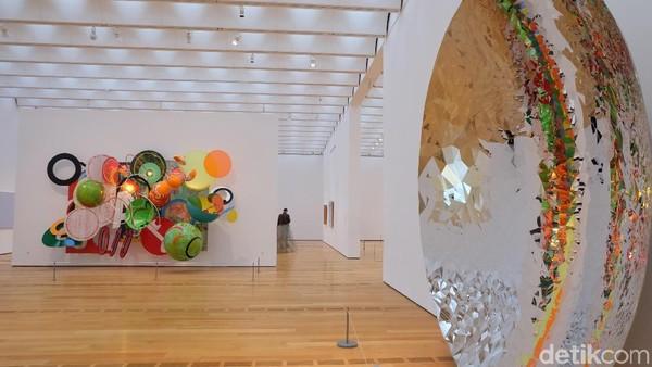 Karya Instalasi Unik dan Raksasa Hiasi Galeri High Museum of Art