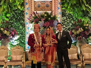 Alexandra Asmasoebrata Resmi Menikah dengan Keponakan Jusuf Kalla