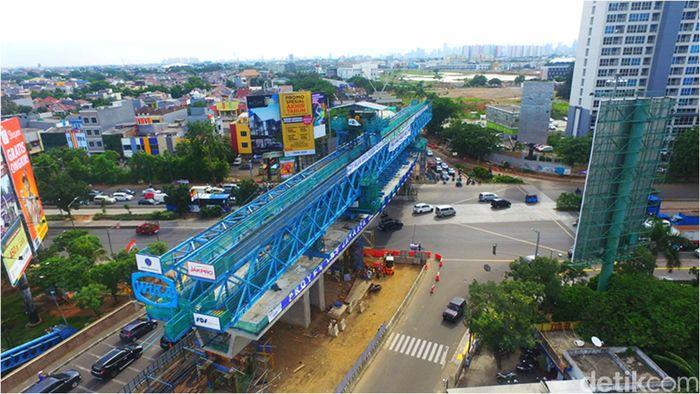 Hingga akhir 2017, progres proyek tersebut secara keseluruhan mencapai 52,19%. Foto: Dok.Wijaya Karya