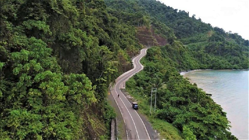 Di Dies Natalis UI, Jokowi Pamerkan Indahnya Jalan Trans Papua