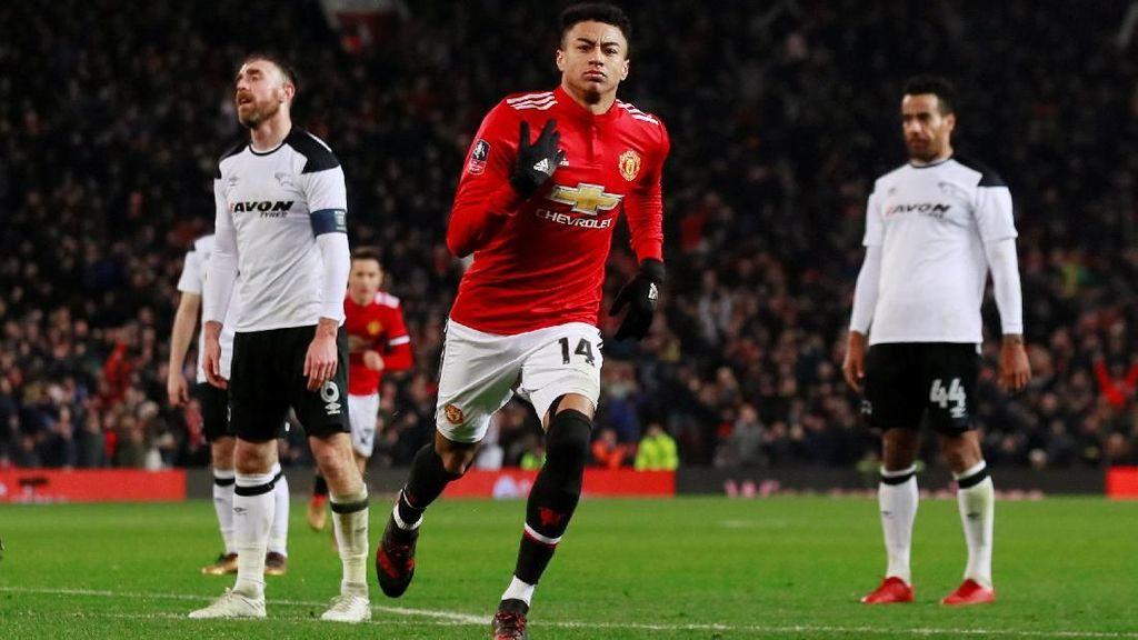 Kalahkan Derby County 2-0, MU Lolos ke Babak Keempat