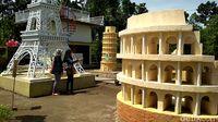 Baru! Blitar Punya Miniatur Colosseum hingga Piramida