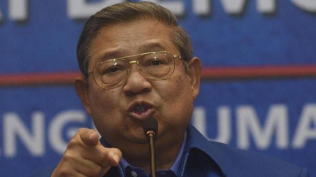 Ketua Umum Partai Demokrat SBY.