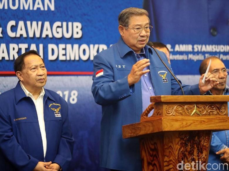 SBY: Tak Benar Saya Minta AHY Jadi Cawapres Jokowi!