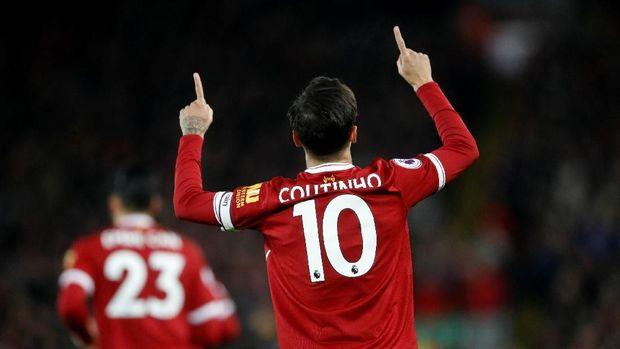 Philippe Coutinho berkontribusi menyumbang gol untuk Liverpool di Liga Champions musim ini.
