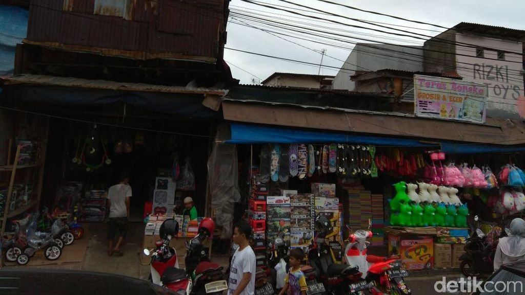 Mau Digusur, Warga Pasar Gembrong Minta Ganti Rugi Rp 50 Juta/Meter