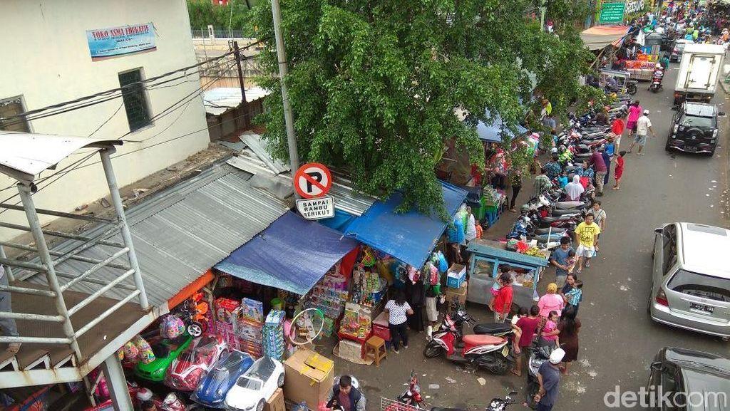 Mau Digusur untuk Tol, Pedagang Pasar Gembrong Minta Habis Lebaran