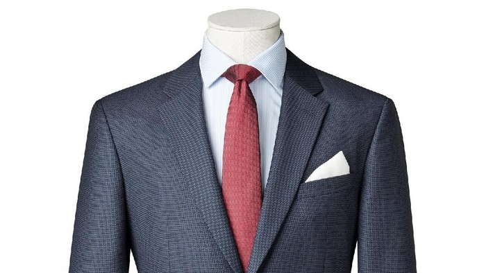 business suit on Mannequin isolated with clipping path.