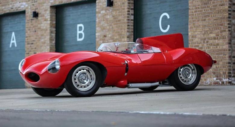 Jaguar D-Type. Foto: Istimewa