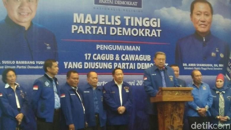 Bareng PDIP, Demokrat Usung Ganjar-Gus Yasin di Pilgub Jateng