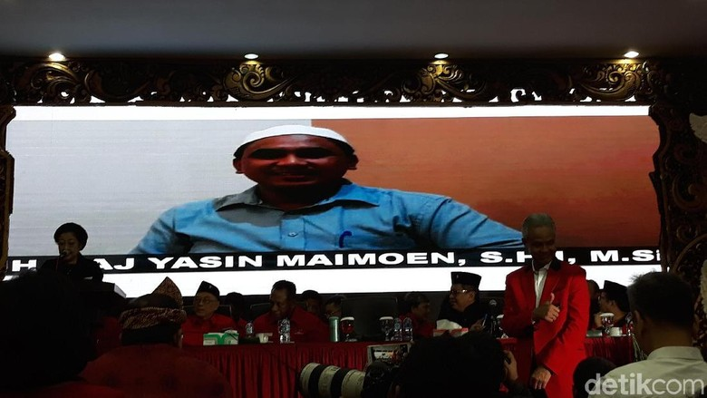 Gus Yasin, Dilirik Sudirman Said Tapi Kini Sah Dipinang Ganjar