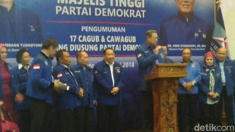 JR Saragih-Ance Selian Jadi Jagoan Demokrat di Pilgub Sumut