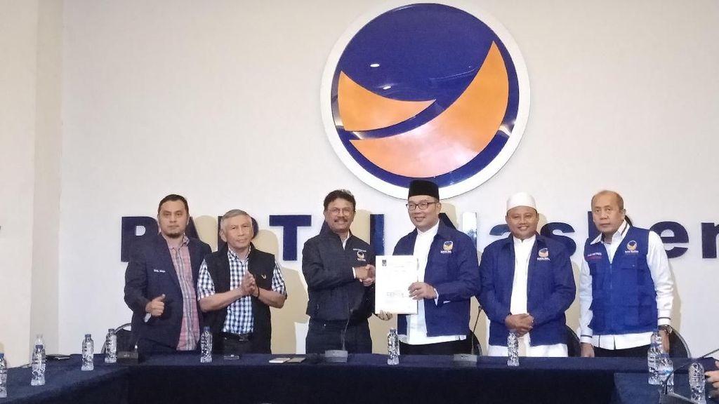 NasDem Jabar Optimis Menangkan Jokowi dari Suara Ridwan Kamil