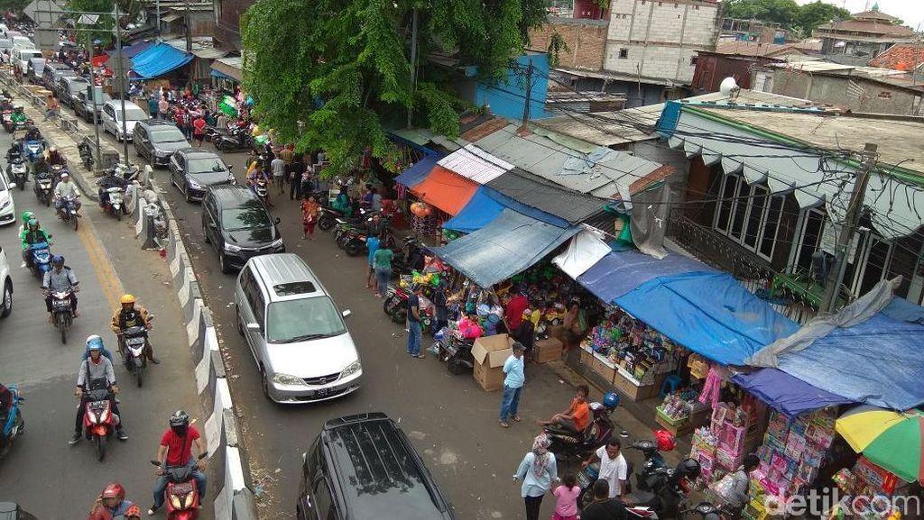 Pasar Gembrong Mau Digusur Buat Jalan Tol, Bagaimana Nasib Pedagang?