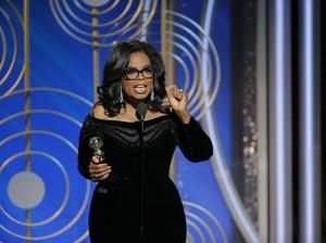 Oprah Winfrey Terima Lifetime Achievement di Golden Globe 2018