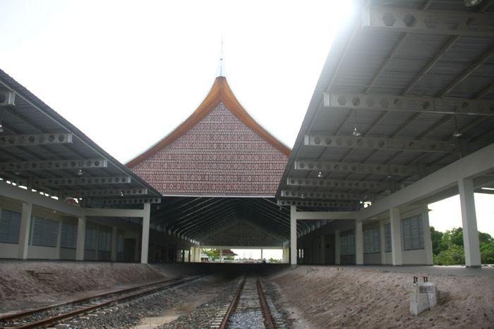 Foto: Stasiun Kereta Bandara Minangkabau (Dok. PT KAI)