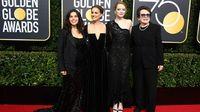 Gaya Artis di Golden Globes 2018