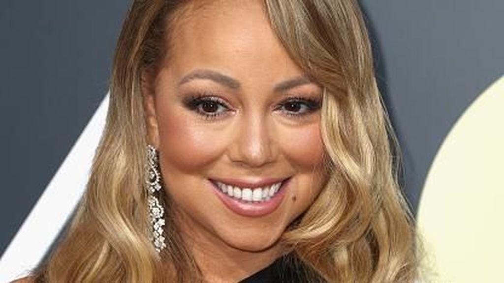 Mariah Carey Seksi di Golden Globes Setelah Operasi Penurunan Berat Badan