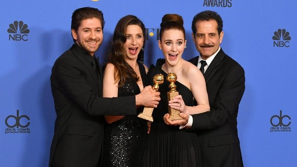 Big Little Lies dan The Marvelous Mrs. Maisel Berjaya di Golden Globe
