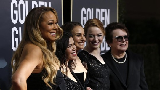 Momen Heboh Para Selebriti di Red Carpet Golden Globe 2018
