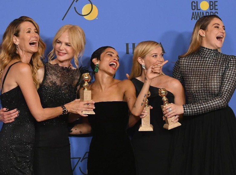 Big Little Lies Menyapu Ajang Golden Globe 2018