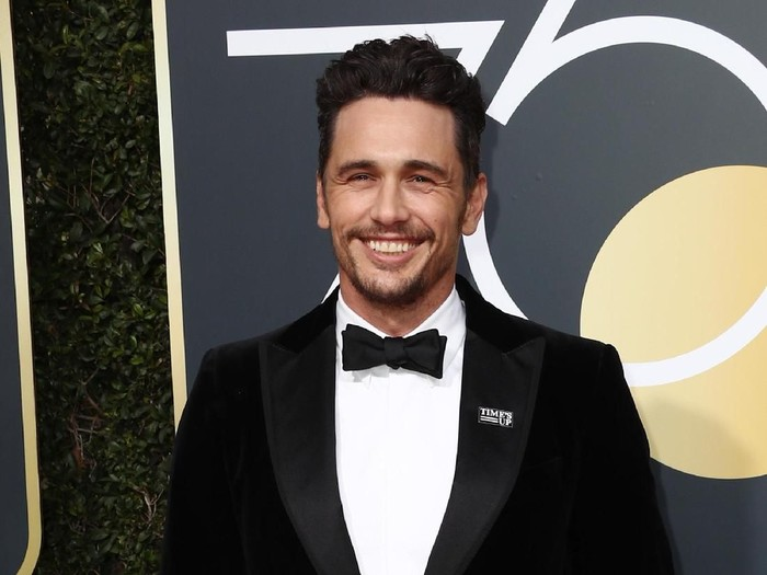 BEVERLY HILLS, CA - JANUARY 07:  James Franco attends The 75th Annual Golden Globe Awards at The Beverly Hilton Hotel on January 7, 2018 in Beverly Hills, California.  (Photo by Frederick M. Brown/Getty Images)
