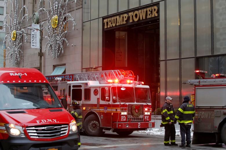 Trump Tower Kebakaran, 1 Orang Luka Parah