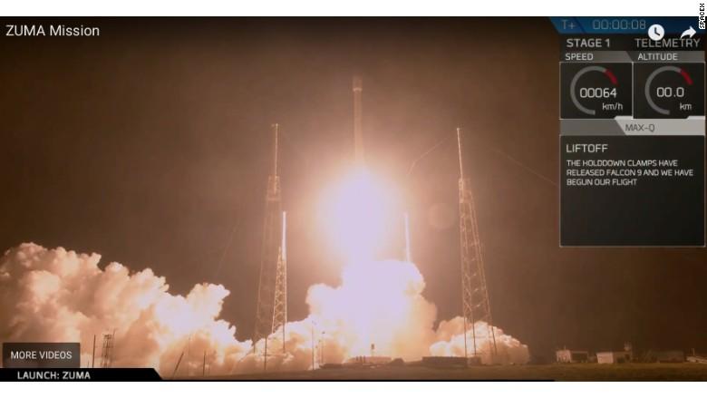 Roket SpaceX Meluncur ke Luar Angkasa Bawa Kendaraan Rahasia AS