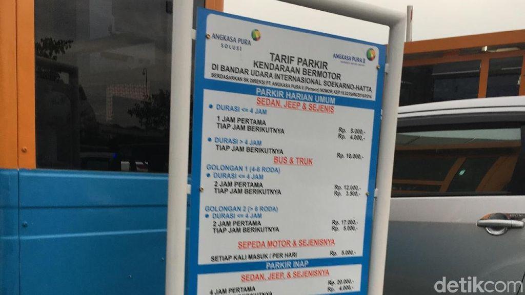 Parkir Inap Berhari-hari di Bandara Soetta, Berapa Tarifnya?