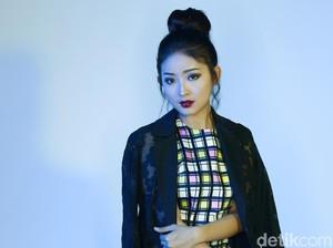 Cerianya Natasha Wilona saat Pemotretan Celeb of The Month Bulan Ini