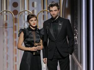 Baper! Hermione Granger dan Cedric Diggory Reunian di Golden Globe