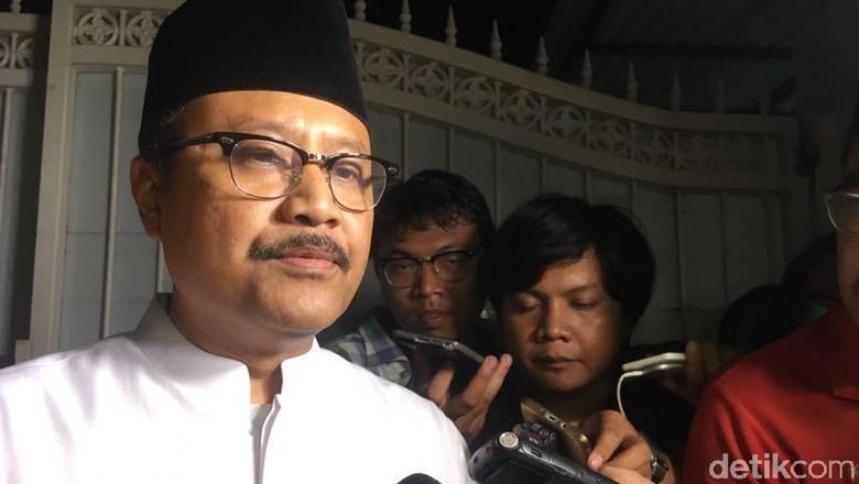 Merapat ke Rumah Megawati, Gus Ipul Bicarakan Pengganti Anas