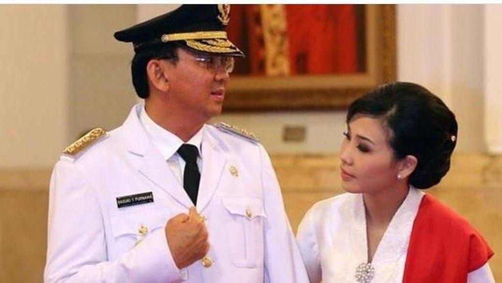 Ahok Dipetisi Ribuan Netizen Batalkan Gugat Cerai Veronica