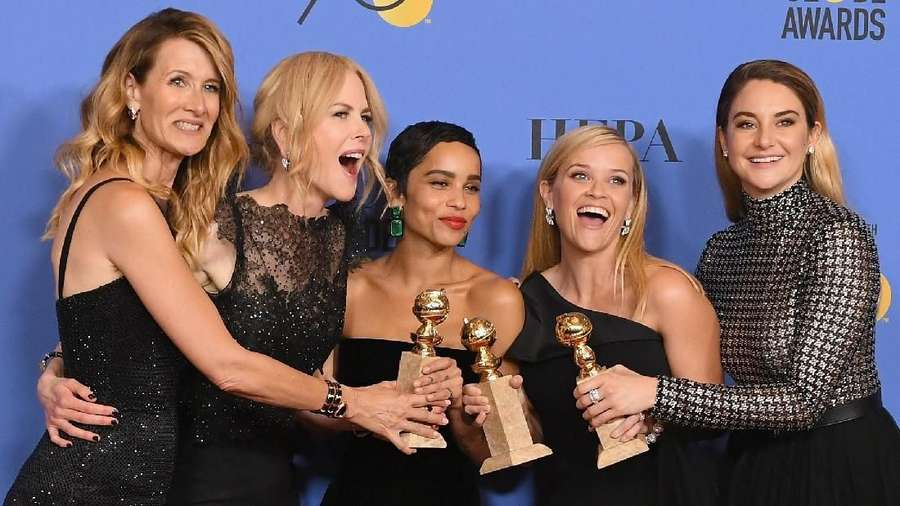 Happy Women! Tawa Para Aktris Cantik Bintang Big Little Lies