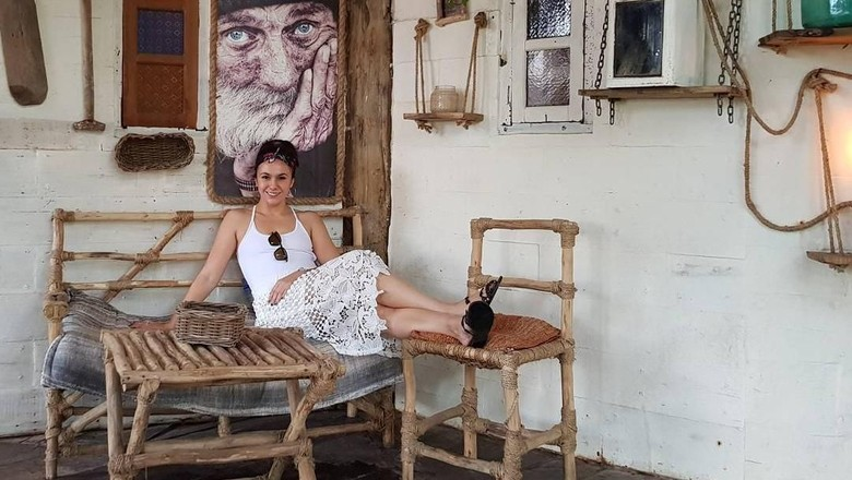 Wulan Guritno liburan di Bali (wulanguritno/Instagram)