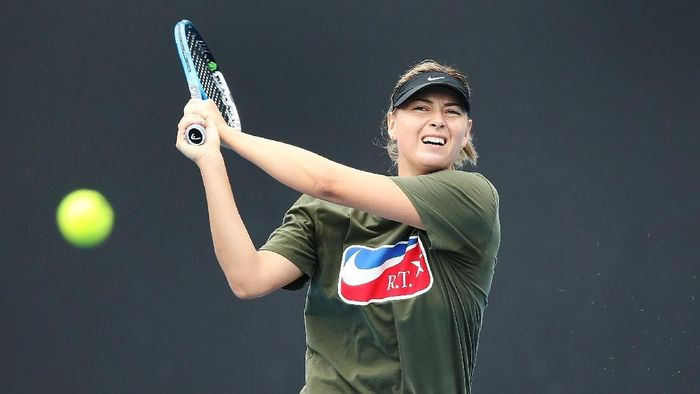 Maria Sharapova masih ingin menambah gelar grand slam-nya (Foto: Michael Dodge/Getty Images)