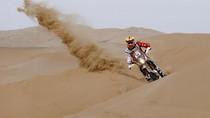 Melihat Aksi Pebalap Reli Dakar Taklukan Gurun Sahara Peru