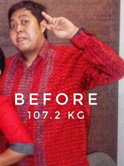 Berat Badan Turun 43 Kg Berkat Clean Eating