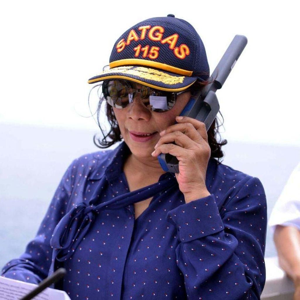 Masuk Daftar Kandidat Cawapres Jokowi, Ini Respons Susi