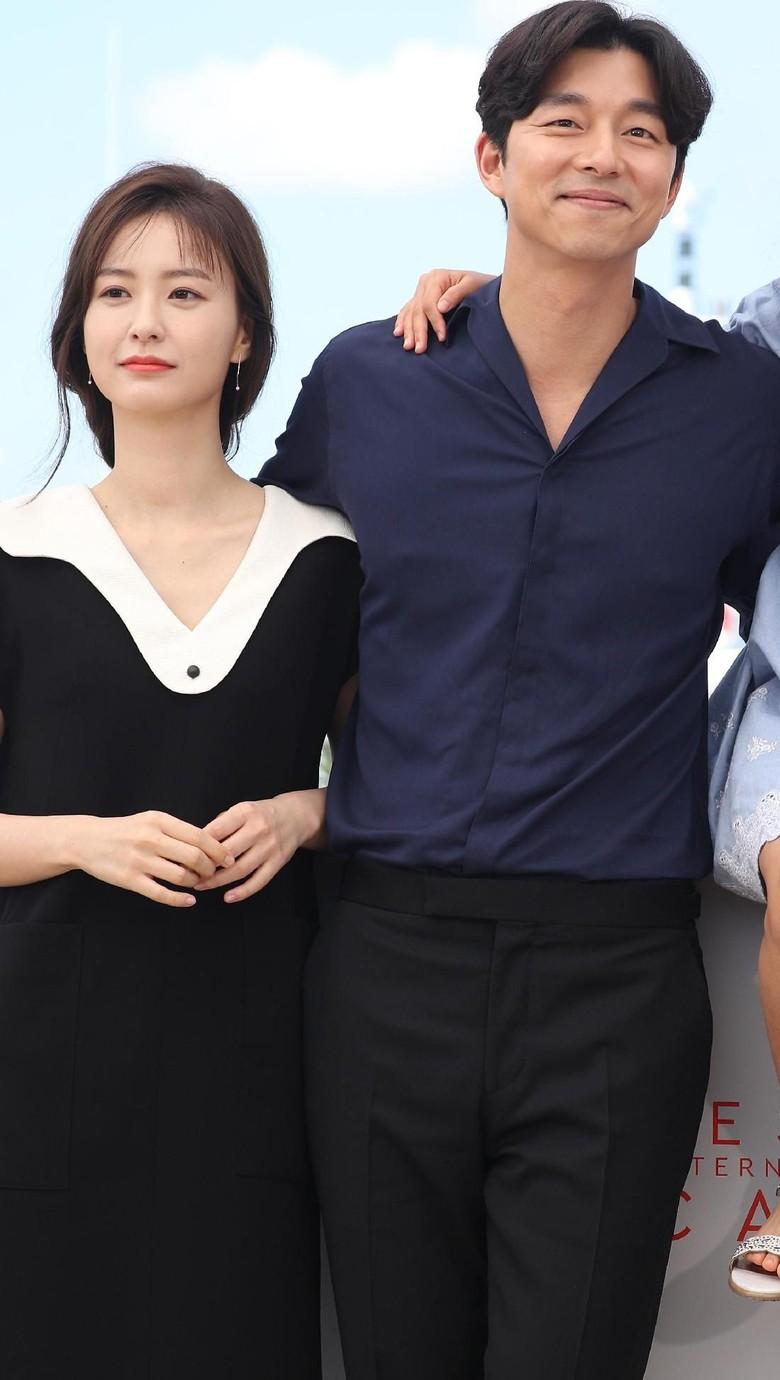 Foto: Gong Yoo dan Jung Yoo Mi (Andreas Rentz/Getty Images)