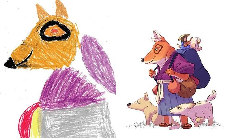 Keren Lukisan Khayalan Anak Sd Yang Menjadi Nyata