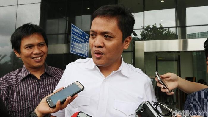Ketua Bidang Advokasi dan Hukum DPP Partai Gerindra Habiburokhman (Foto: Ari Saputra/detikcom)