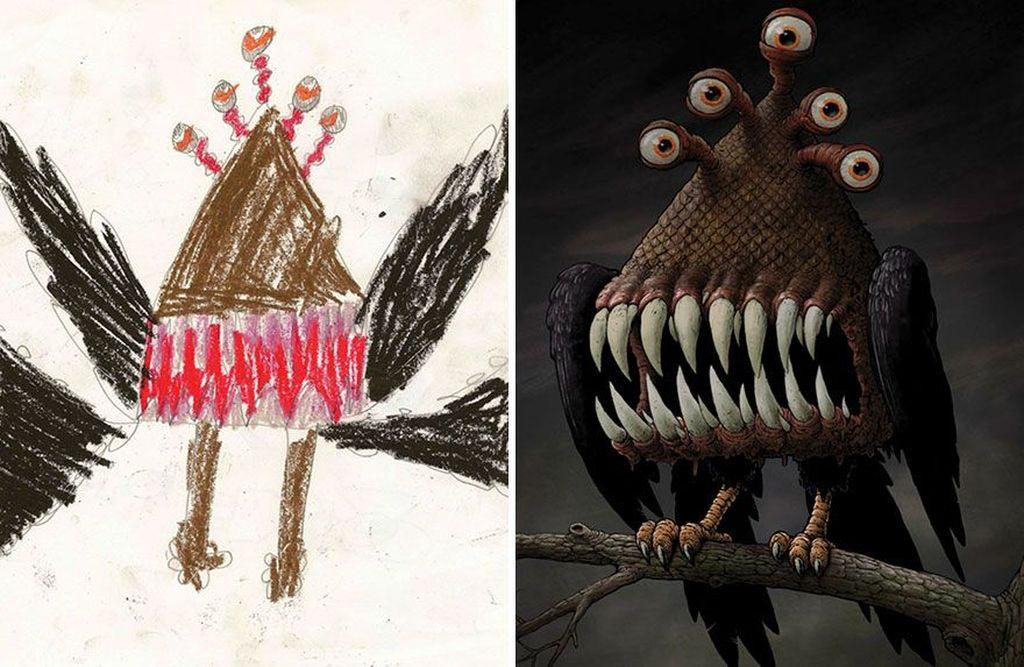 53+ Gambar Abstrak Anak Sd Terlihat Keren