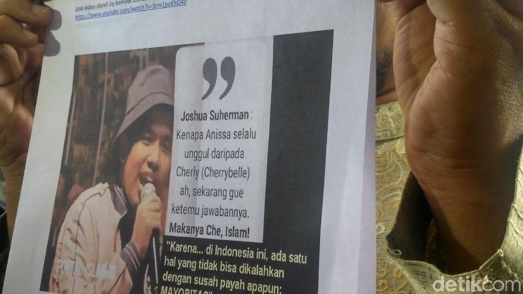 Joshua dan Ge Dituduh Lecehkan Islam, Adik Nikita Mirzani Kecelakaan