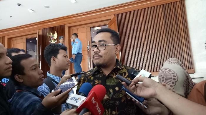 Ketua DPP PKB Jazilul Fawaid (Gibran Maulana Ibrahim/detikcom)