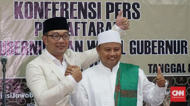 Ridwan Kamil-UU jadi paslon dengan sumbangan kampanye paling sedikit