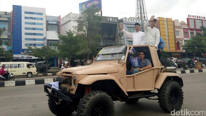 Deklarasi Maju Pilgub Sumsel, Ishak Mekki-Yudha Langsung ke KPU