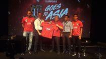 Jelang Playoff Liga Champions Asia, Bali United Perkenalkan Sponsor