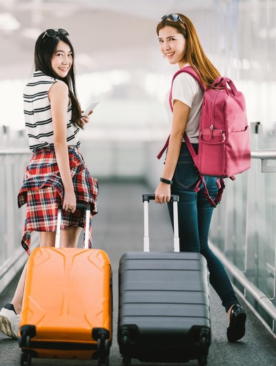 Ilustrasi mudik membawa koper. Foto: Thinkstock