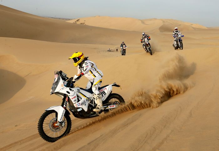 Reli Dakar sendiri telah memasuki tahun ke-40. Andres Stapff/Reuters.
